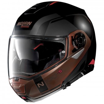 Casque Klapp Nolan N100 5 Consistency N-Com Flat Black Copper 28