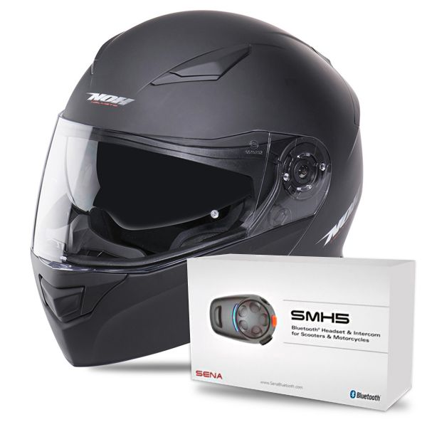 Klapp NOX N965 Matt Black