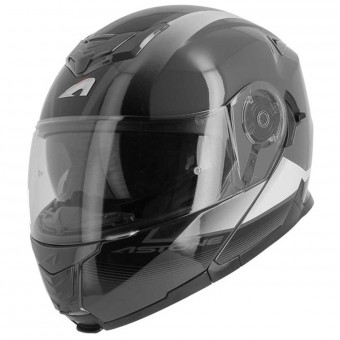 Casque Klapp Astone RT 1200 Vanguard Anthracite White