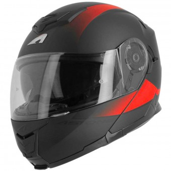 Casque Klapp Astone RT 1200 Vanguard Matt Black Red