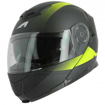 Casque Klapp Astone RT 1200 Vanguard Matt Black Yellow Neon