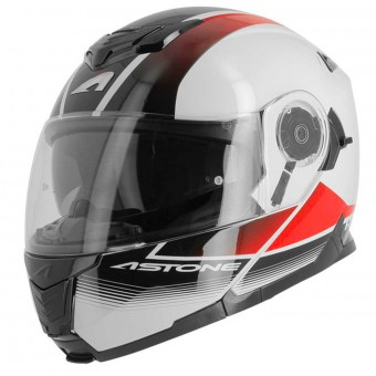 Casque Klapp Astone RT 1200 Vanguard White Black Red