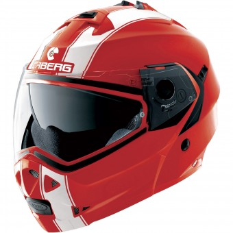Casque Klapp Caberg Duke II Legend Ducati Red White