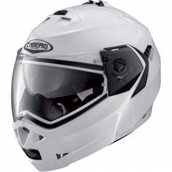 Casque Klapp Caberg Duke II Metal White