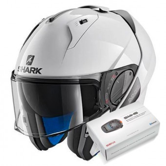 Casque Klapp Shark Evo-One 2 Blank WHU