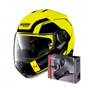 Casque Klapp Nolan N100 5 Consistency N-Com Led Yellow 26