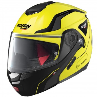Casque Klapp Nolan N90 2 Straton N-Com Led Yellow 18