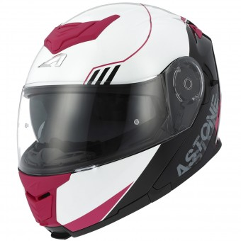 Casque Klapp Astone RT 1200 Upline Pink Red