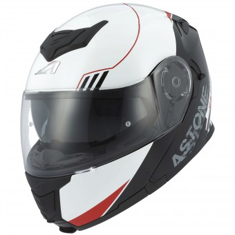 Casque Klapp Astone RT 1200 Upline Red White