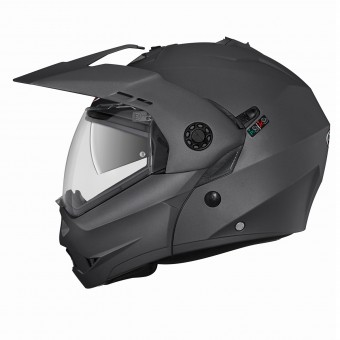 Casque Klapp Caberg Tourmax Matt Gun Metal