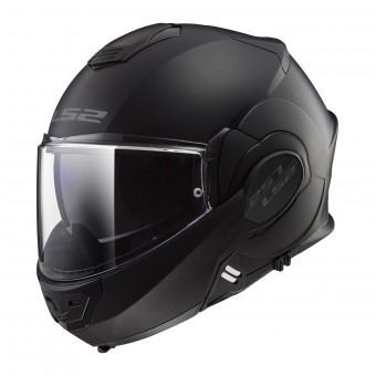 Casque Klapp LS2 Valiant Limited Black S Matt Black FF399