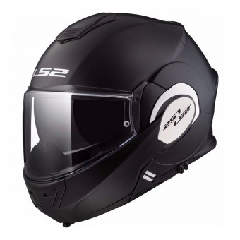Casque Klapp LS2 Valiant Solid Matt Black FF399
