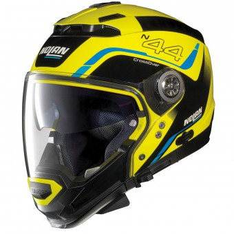 Casque System Nolan N44 Evo Viewpoint N-Com Led Yellow 51