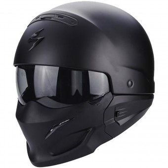 Casque System Scorpion Exo Combat Matt Black