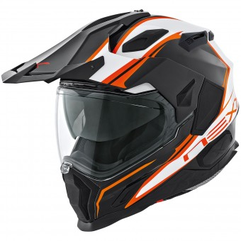 Casque Integral Nexx X.D1 Voyager Weiß Orange