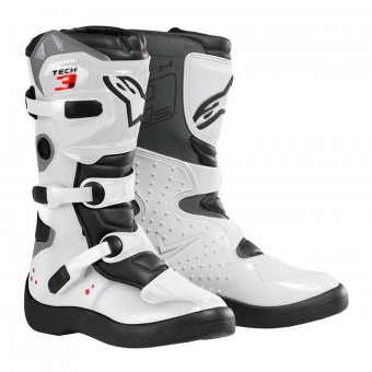 Cross Stiefel Alpinestars Tech 3S Kids Black White