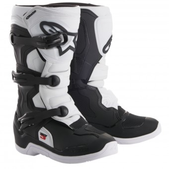 Cross Stiefel Alpinestars Tech 3S Youth Black White