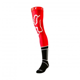 Cross Socken FOX Knee Brace Flame Red