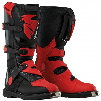 Cross Stiefel Thor Blitz Black Black Red - Kinder