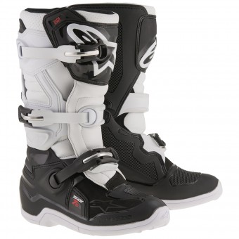 Cross Stiefel Alpinestars TECH 7 S Black White- Kinder