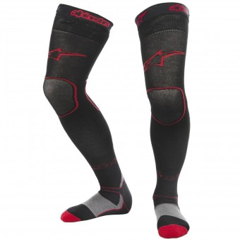 Cross Socken Alpinestars Long Mx Socks Black Red
