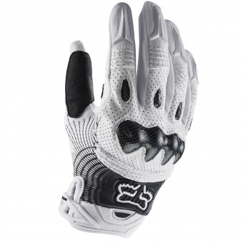 Cross Handschuhe FOX Bomber White Black