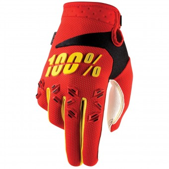 Cross Handschuhe 100% Airmatic Red - Kinder