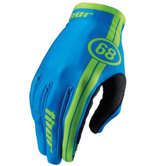 Cross Handschuhe Thor Void Course Blue - Kinder