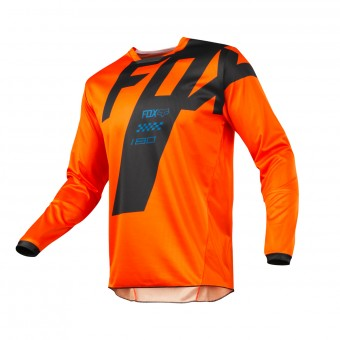 Cross Trikot FOX 180 Master Orange 009