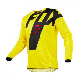 Cross Trikot FOX 180 Master Yellow 005