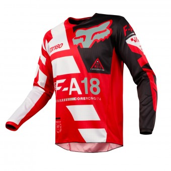 Cross Trikot FOX 180 Sayak Red 003
