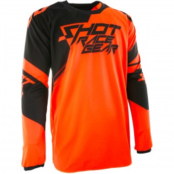 Cross Trikot SHOT Contact Claw Neon Orange