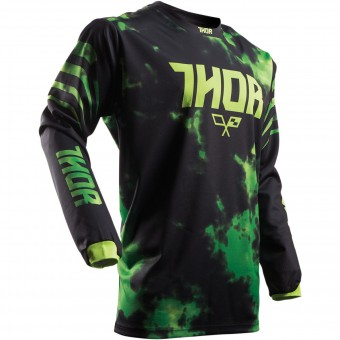 Cross Trikot Thor Pulse Tydy Green Black