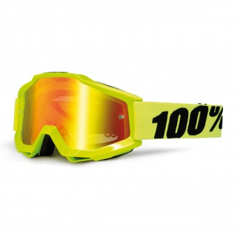 Crossbrille 100% Accuri Fluo Yellow