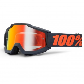 Crossbrille 100% Accuri Gunmetal