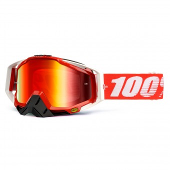 Crossbrille 100% Racecraft Fire Red