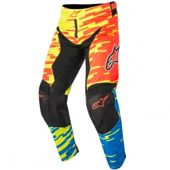 Cross Hose Alpinestars Racer Braap Red Blue Kinderhose