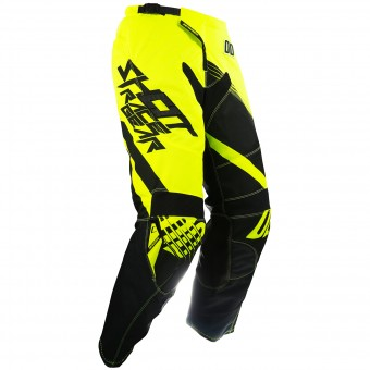 Cross Hose SHOT Contact Claw Neon Yellow Pant