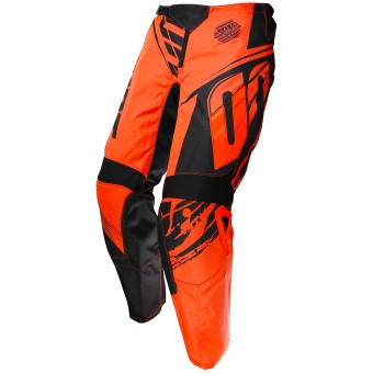 Cross Hose SHOT Devo Fast Neon Orange Pant - Kinder