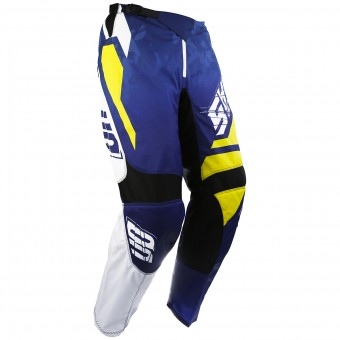 Cross Hose SHOT Devo Squad Blue Yellow Pant