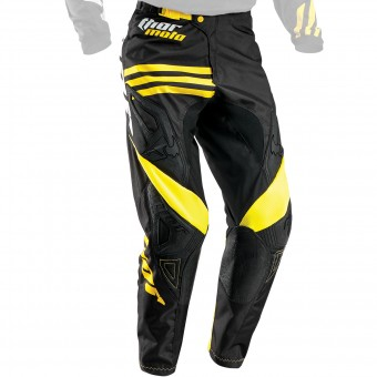 Cross Hose Thor Phase Strands Black Yellow Pant
