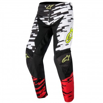 Cross Hose Alpinestars Racer Braap White Red Kinderhose
