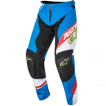 Cross Hose Alpinestars Racer Supermatic Blue Red Kinderhose