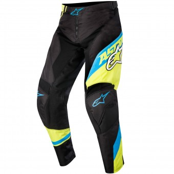Cross Hose Alpinestars Racer Supermatic BlueYellow Kinderhose