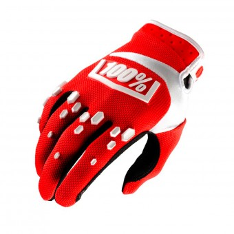 Cross Handschuhe 100% Airmatic Red White