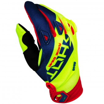 Cross Handschuhe SHOT Devo Alert Blue Red Yellow