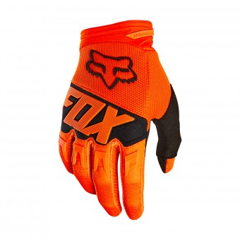 Cross Handschuhe FOX Dirtpaw Race Orange Black 009