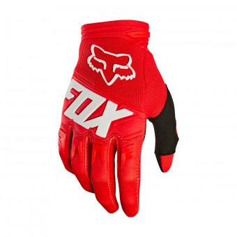 Cross Handschuhe FOX Dirtpaw Race Red White 003