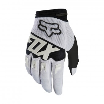 Cross Handschuhe FOX Dirtpaw Race White Black 008