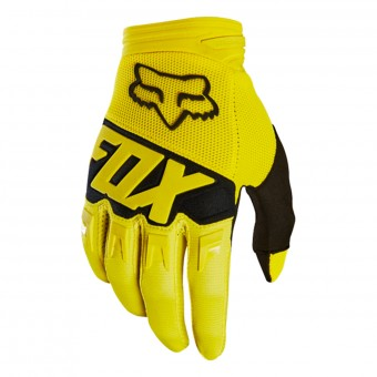 Cross Handschuhe FOX Dirtpaw Race Yellow Black 005